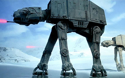 Imperial Walker - © 1980, 1997, 2004 Lucasfilm Ltd. All Rights Reserved.